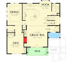 floor plans with great rooms craftsman with two story great room 69035am architectural
