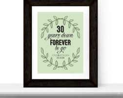 30th anniversary gifts for parents 30th anniversary gift for or husband 30th wedding