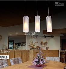 dining room pendant light modern brief glass single head aisle