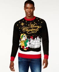 Ugly Christmas Sweater With Lights Unisex Ugly Christmas Sweater Kit Sweaters Men Macy U0027s