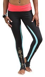 amazon com gaiam apparel womens avalon foldover legging sports