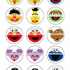 colouring pages printable pictures sesame street characters