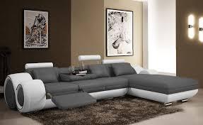 canapé design d angle canapé d angle cuir design cuir design
