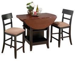 Dining Set 2 Chairs Artistic Brilliant Design Dining Table For 2 Clever Chair Of