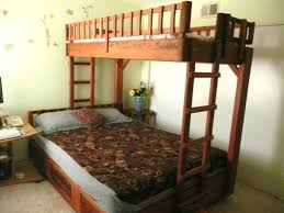 bunk beds free bunk bed building plans full loft bed with stairs