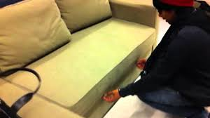 Manstad Sofa Bed Ikea by Ikea U0027s Manstad Corner Sofa Youtube