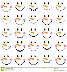 free snowman face clipart clipartxtras