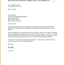 job offer letter acceptance reply email u2013 cover letter examples in