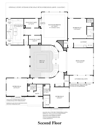 2nd Floor Plan Design Iron Oak At Alamo Creek The Torrey Ca Home Design