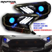 ford ranger 2015 fit 15 ford ranger factlift head lamp light led projector