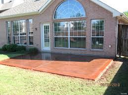 bestpaint patio ideas best paint or stain for concrete patio concrete