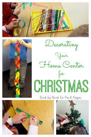 decorate your home center for christmas pre k pages