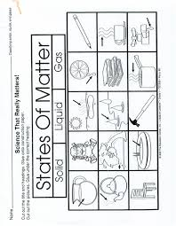 page 1 states of matter worksheet make a 3 part foldable solid