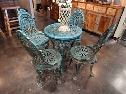 Cast Iron Bistro Table And Chairs Cast Iron Patio Set This Very Heavy Set Is Made From Cast Iron