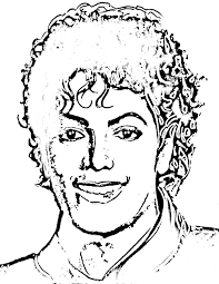 michael jackson coloring pages 2239