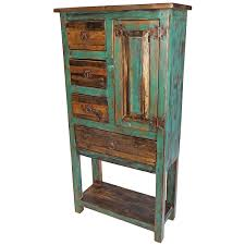 Rustic Book Shelves by Painted Wood Cabinets Armoires And Bookshelves From Mexico