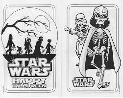 star wars halloween coloring pages