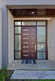unique front doors entry midcentury with outdoor lighting modern