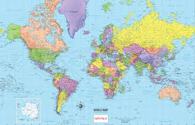 world politic map world political map capitals at maps and pointcard me