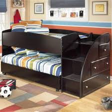 Kids Beds With Storage Drawers Bunk Beds Stairway Loft Bed Twin Loft Bed With Stairs Oak Bunk