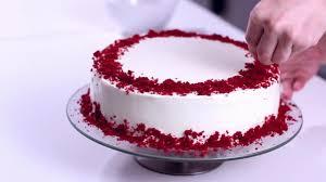 red velvet cake recipe cake decorating style 2017 v014 youtube