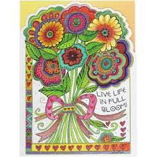 laurel burch birthday card wishing you a day bdg17625