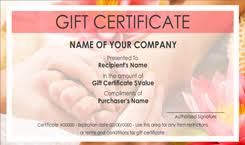 nail salon gift cards beauty and nail salon gift certificate templates easy to use gift