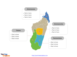 Blank Map Of South Africa Provinces by Free Madagascar Editable Map Free Powerpoint Templates