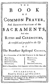 1786 proposed book of common prayer