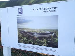 and so it begins u2026the huge new apple u201cspaceship u201d campus alpharoaming