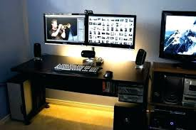 best desk for dual monitors dual monitor desk dual monitor desk setup best organize images on