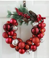 tired of christmas wreaths try these ideas instead hometalk