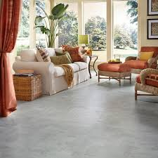 Laminate Flooring Concrete Slab Brick Herringbone Layout Design Inspiration Resilient Vinyl Floor