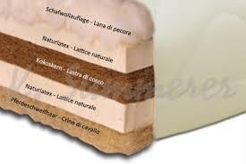 materasso bio materasso naturale in cocco e latice con fodera lavabile