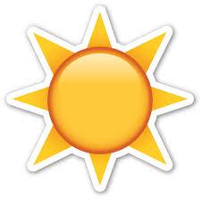 black sun with rays