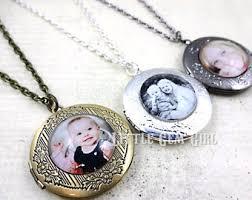 personalized photo lockets custom photo locket etsy