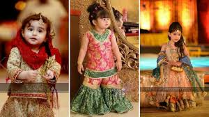kids party wear traditional dress designs catalogue baby girls