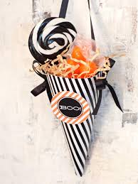 halloween party favor make a treat cone hgtv