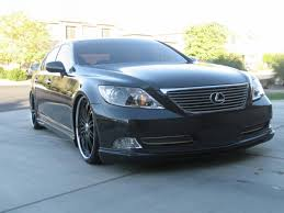 lexus ls 460 on forgiatos lowered ls460s how many miles are you getting out of a set of