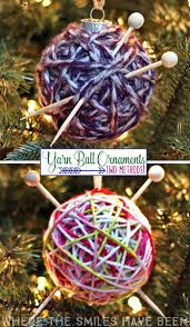 how to make a yarn ball ornament two methods yarn ball
