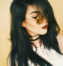 black hair we heart it hair and model