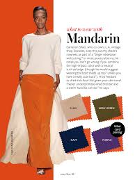 color tips to match clothing instyle color crash course mandarin color pinterest color
