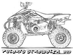 4 wheeler coloring pictures march calendar 2017