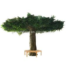 gnw btr011 8 artificial banyan forest trees 4meter for
