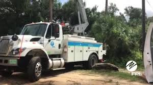 electric company truck don u0027t call fpl u2014 will take days to estimate times for power after