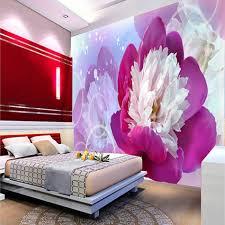 livingroom wallpaper flower promotion shop for promotional