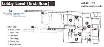 Fitness Center Floor Plans Student Recreation Center Recreation