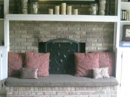 fireplace hearth cover added seating and safer for little ones