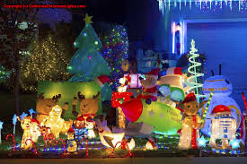 House Christmas Lights by Best Christmas Lights And Holiday Displays In Elk Grove