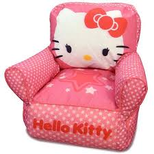 hello kitty toddler bean bag sofa chair walmart com